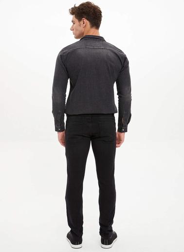 DeFacto Pedro Slim Fit Jean Pantolon Siyah